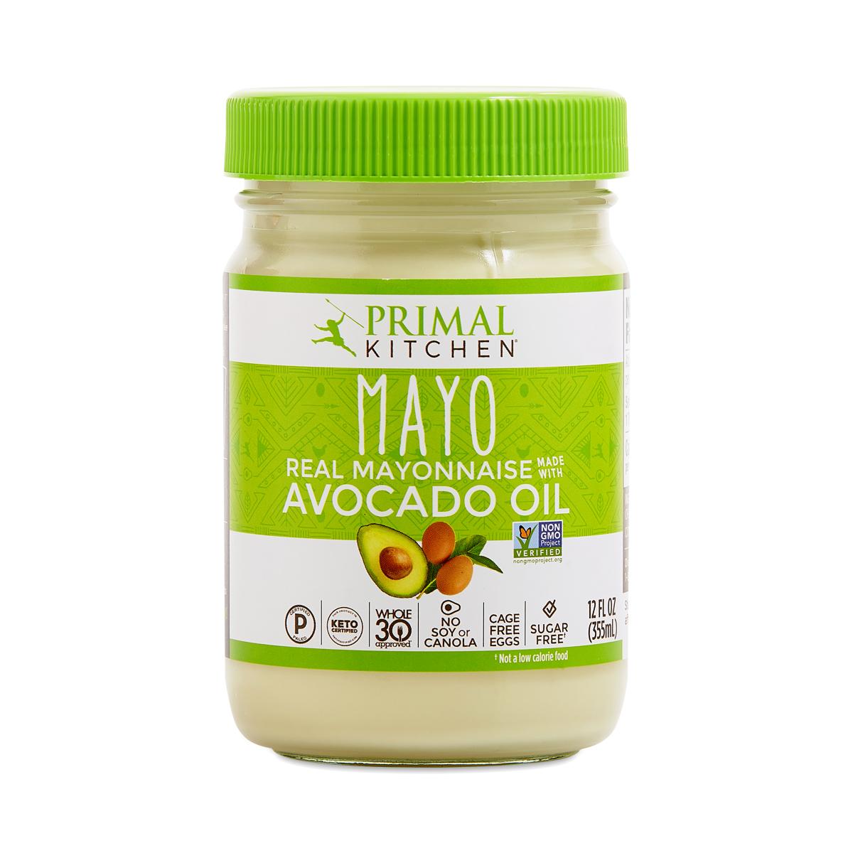 Primal Kitchen Avocado Oil Mayo 12 fl oz jar
