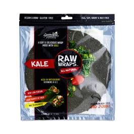 Raw Kale Wraps