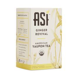 Ginger Revival American Yaupon Tea