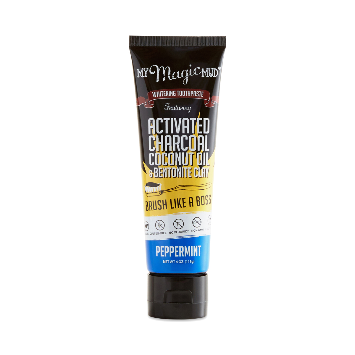 Black Magic I M In Love With The Charcoal: My Magic Mud Activated Charcoal Whitening Toothpaste