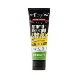 Activated Charcoal Whitening Toothpaste, Wintergreen
