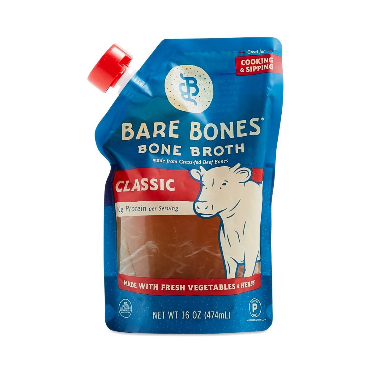 Classic Beef Bone Broth By Bare Bones Broth Thrive Market