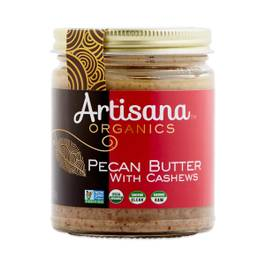 Organic Raw Pecan Butter with Cashews