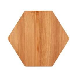 Cedar Wood Hex Serving Board