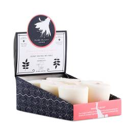 Votive Candle 6-pack, Orange & Grapefruit