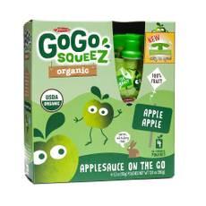 Organic Applesauce Squeezes - Apple Apple