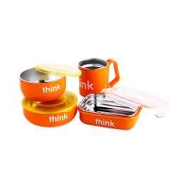 Complete Feeding Set, Orange