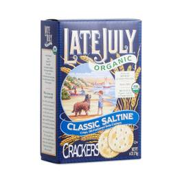 Organic Classic Saltine Crackers
