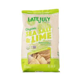 Organic Sea Salt & Lime Tortilla Chips
