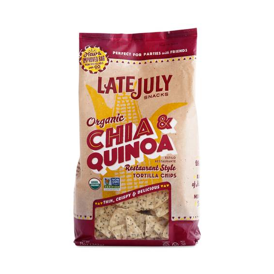 Chia & Quinoa Tortilla Chips by Late July - Thrive Market