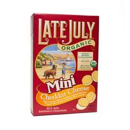 Mini Cheddar Cheese Sandwich Crackers