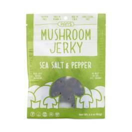 Sea Salt & Pepper Mushroom Jerky