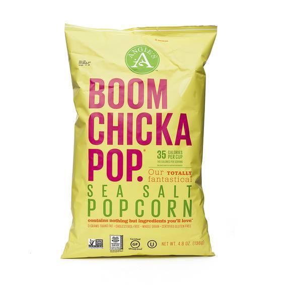 Boom Chicka Pop Sea Salt Popcorn