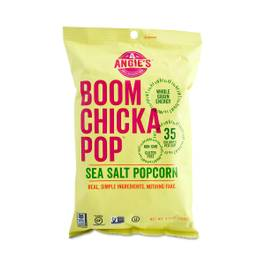 BOOM CHICKA POP Popcorn, Sea Salt
