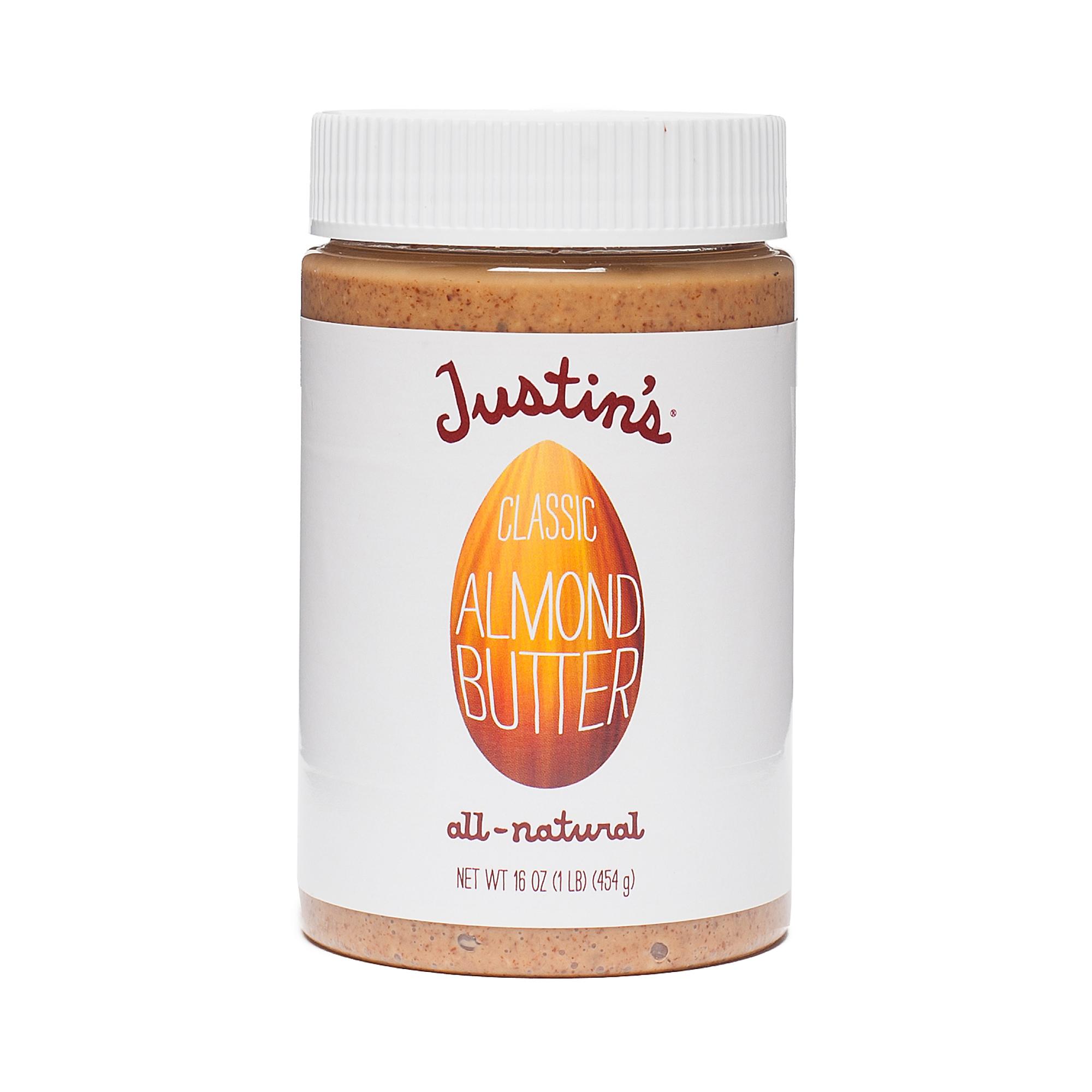 Justin's Classic Almond Butter 16 oz jar