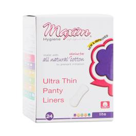 Natural Ultra Thin Panty Liners, Light Flow