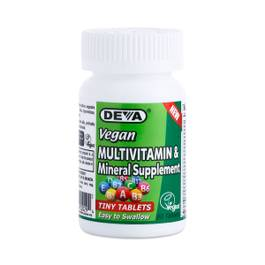 Vegan Tiny Tablets Multivitamin & Mineral Supplement