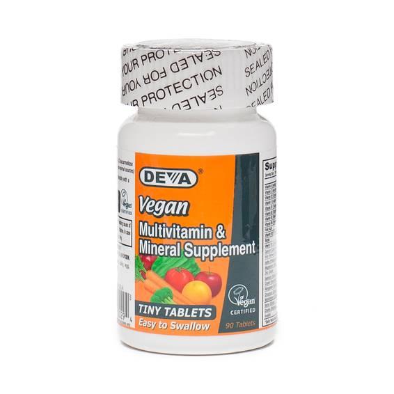 Vegan Tiny Tablets Multivitamin & Mineral Supplement
