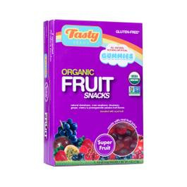 Organic Superfruit Flavor Fruit Snacks, Snack Pack size