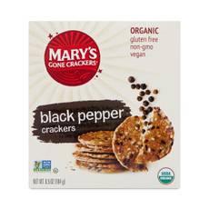 Black Pepper Crackers