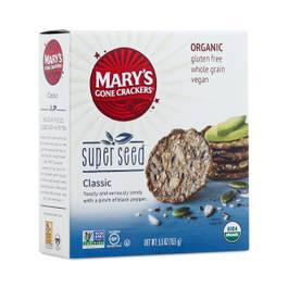 Organic Super Seed Crackers