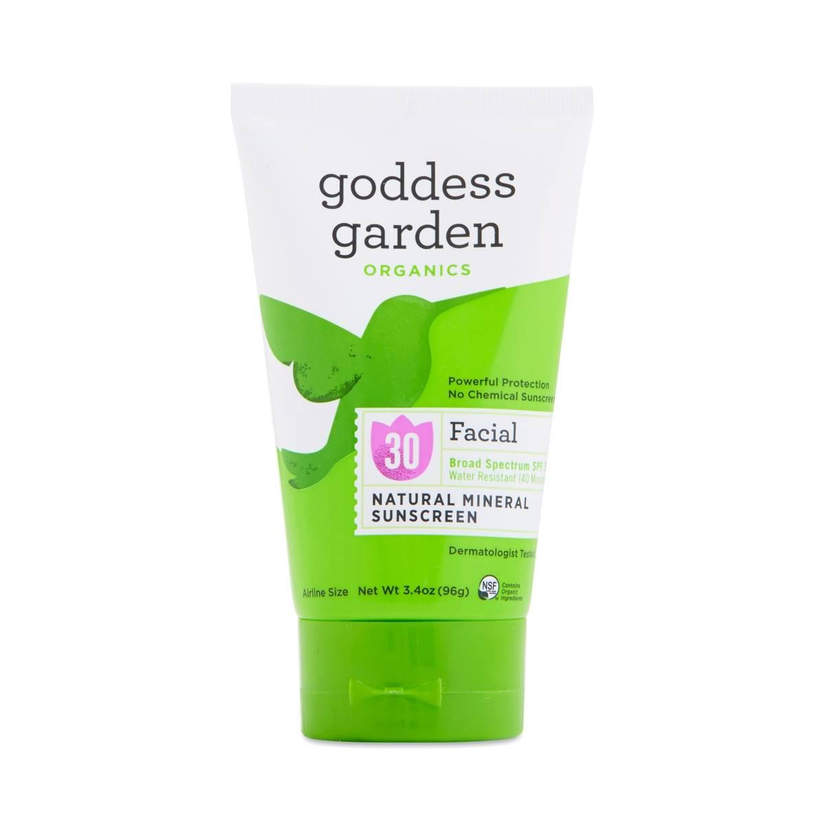 Goddess Garden Spf 30 Facial Natural Sunscreen Lotion Thrive Market