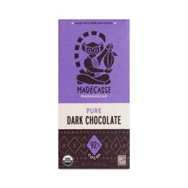 Pure Dark Chocolate Bar 92%
