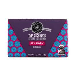Bolivian 87% Dark Chocolate Bar