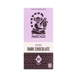 Pure Dark Chocolate Bar 80%