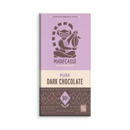 Pure Dark Chocolate Bar 80%