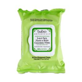 Aloe Vera 3-in-1 wipes
