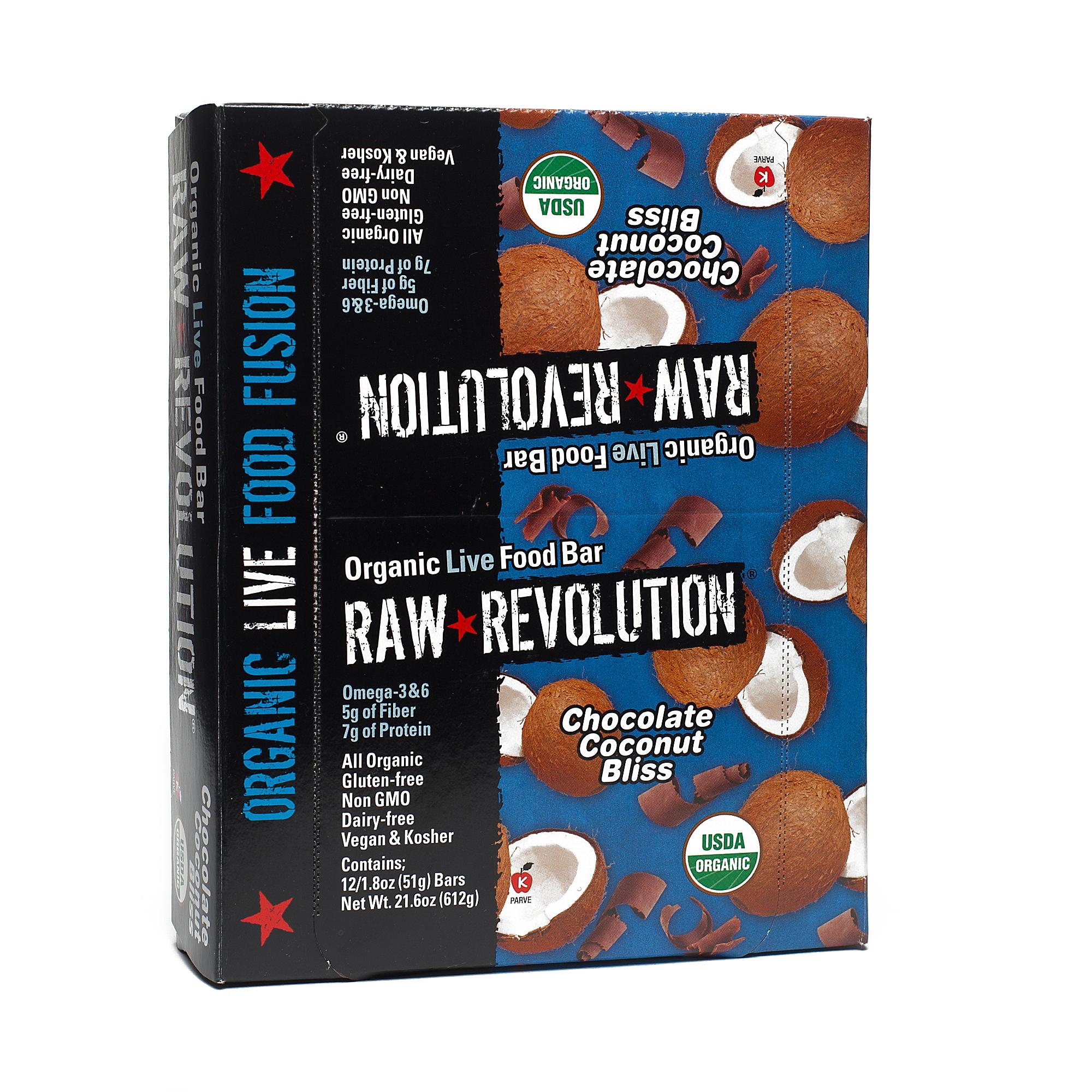 Raw Revolution Chocolate Coconut Bliss