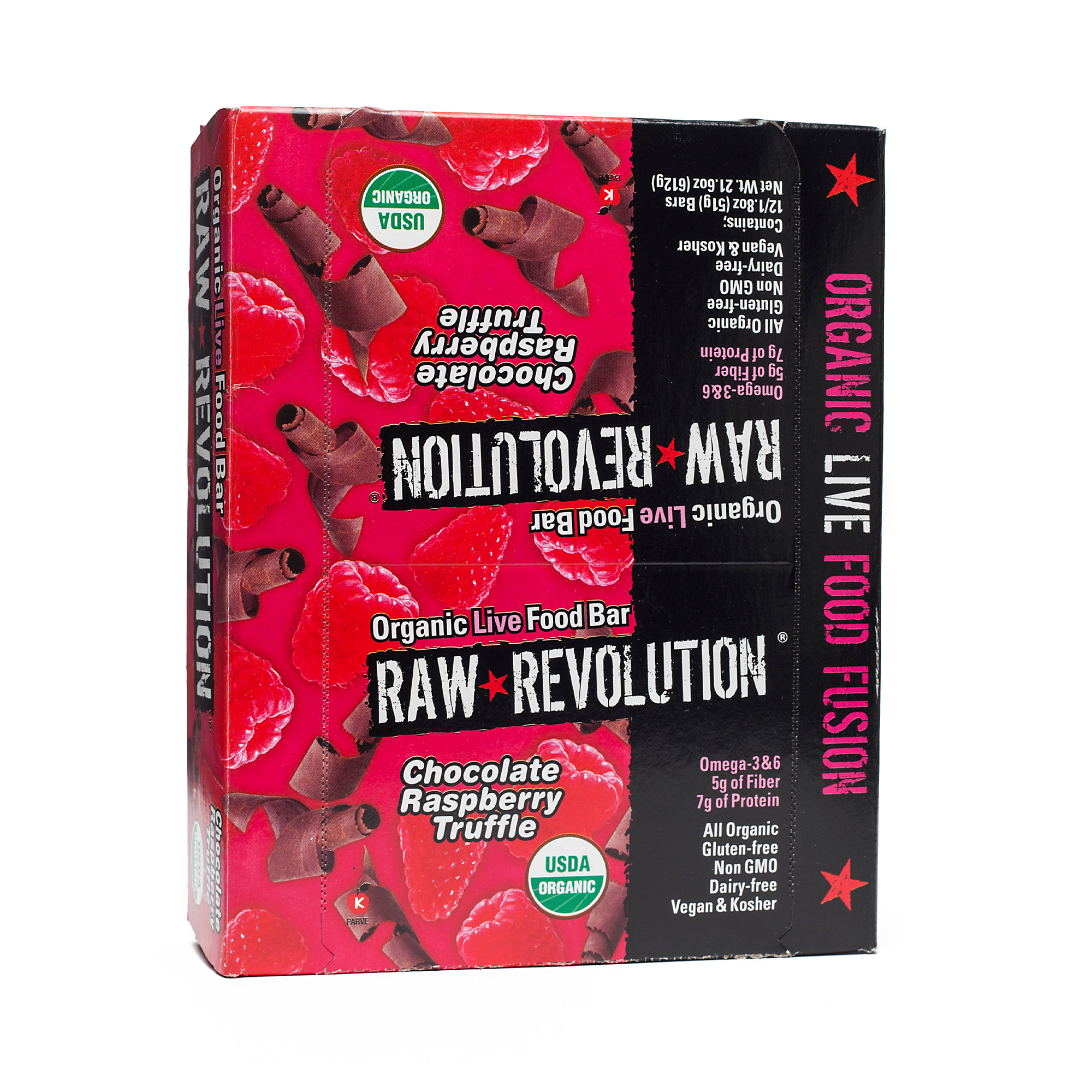 Raw Revolution Chocolate Raspberry Truffle