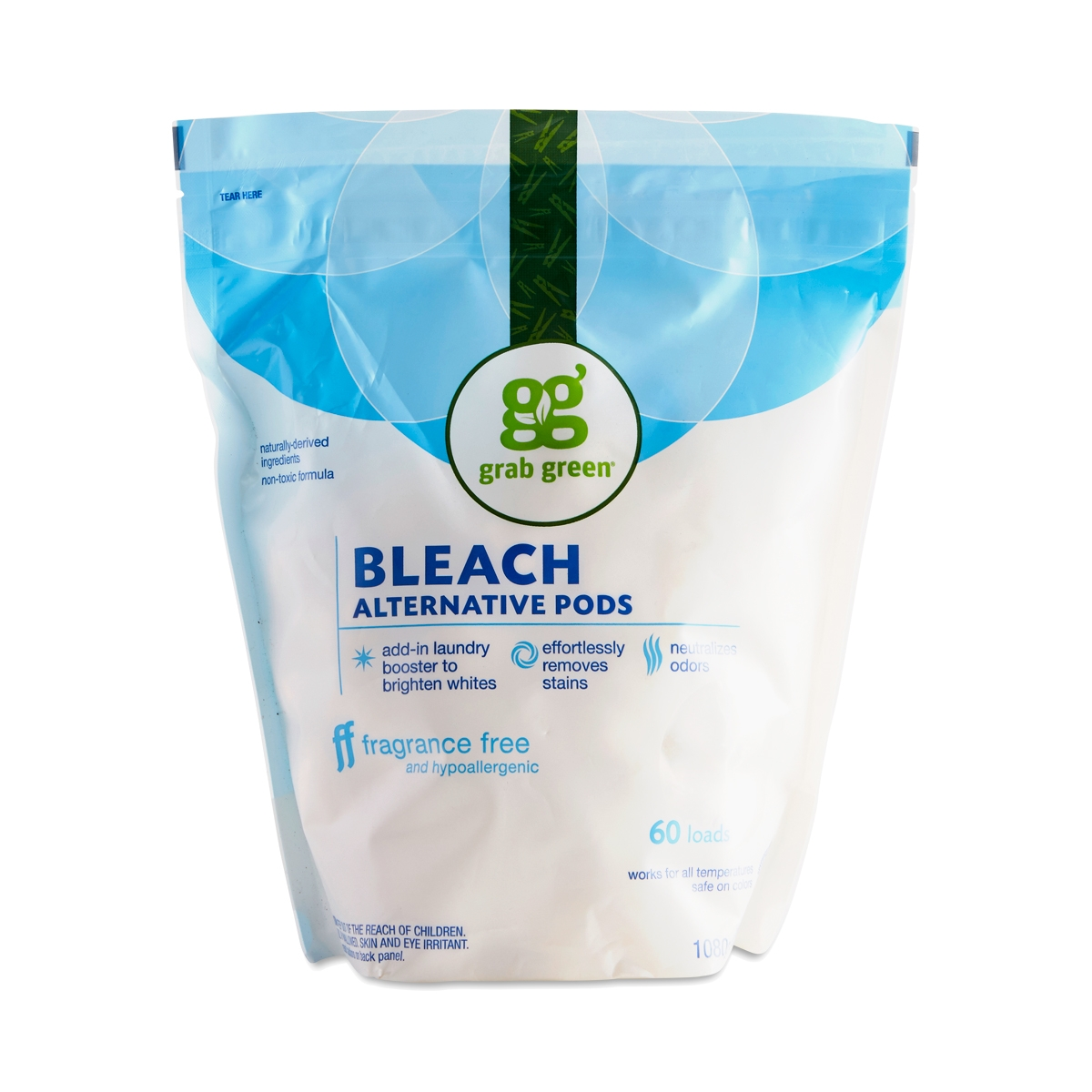 Bleach Alternative Laundry Pods, Fragrance Free