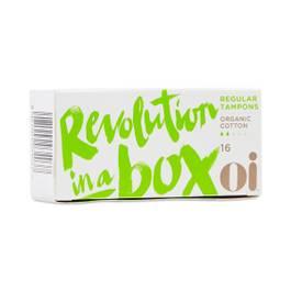 Organic Cotton Non-applicator Tampons, Regular