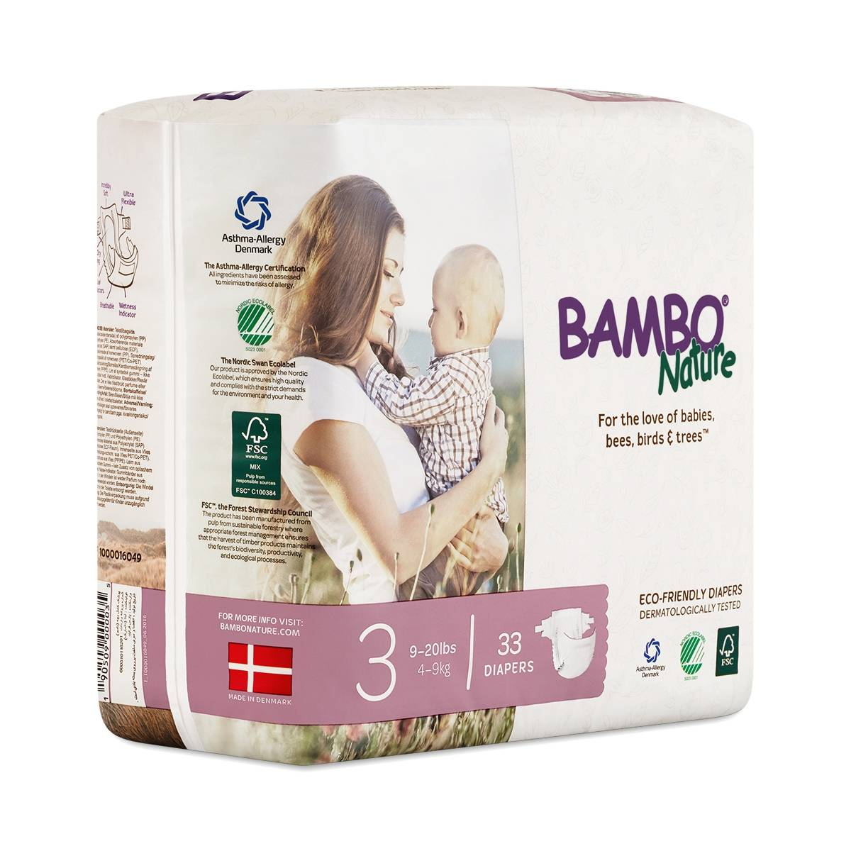 Bambo Nature Diapers Size  Best Price