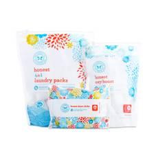 Laundry Bundle: Detergent, Packs & Dryer Cloths
