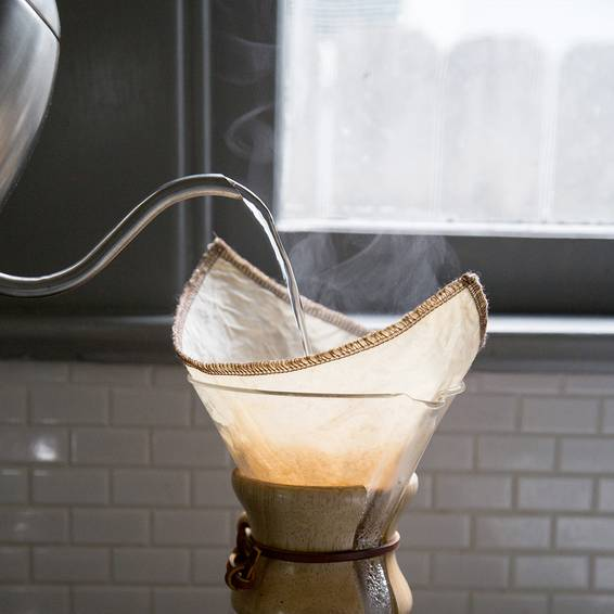 Chemex Coffee Maker Reusable Filter : CoffeeSock Chemex Reusable Coffee Filter, 3 Cup - Thrive Market