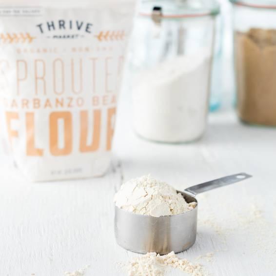Organic Sprouted Garbanzo Bean Flour - Thrive Market