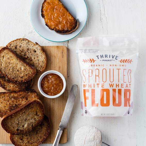 Organic Sprouted White Wheat Flour - Thrive Market