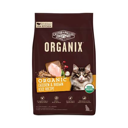 Castor pollux organix chicken brown rice cat food recipe organix chicken brown rice cat food recipe forumfinder Images