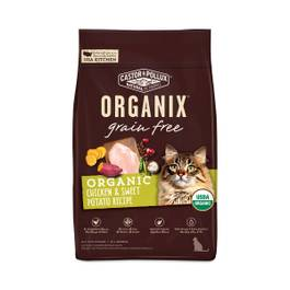 Organix Grain Free Chicken & Sweet Potato Cat Food Recipe
