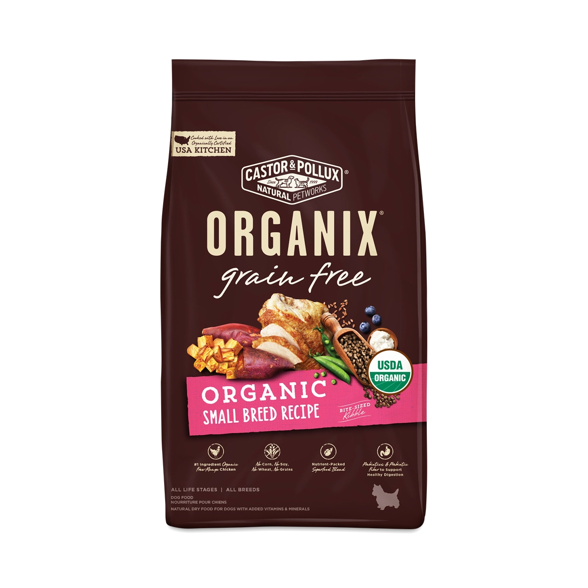 Castor pollux organix grain free organic small breed dog food castor pollux organix grain free organic small breed dog food recipe thrive market forumfinder Image collections