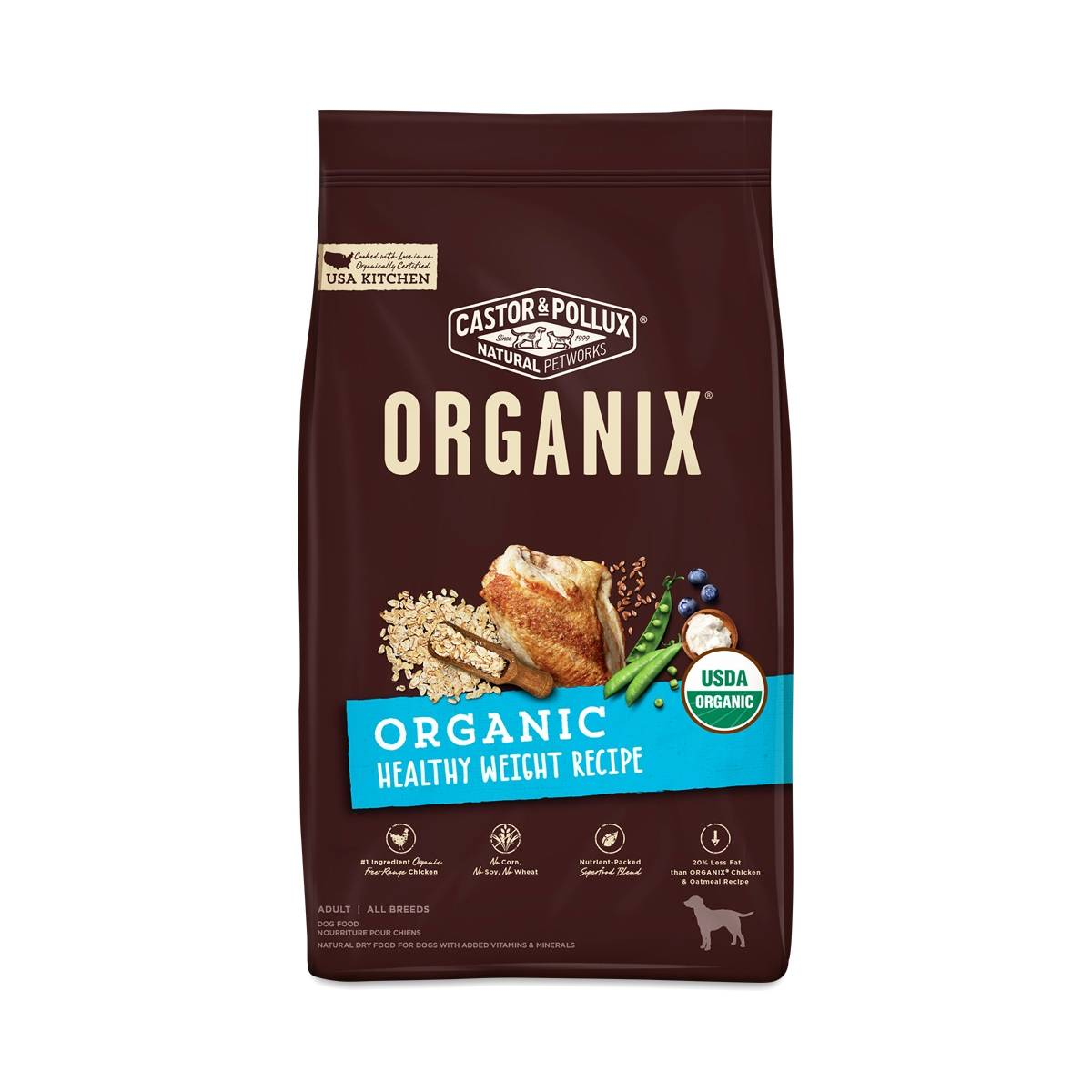 Certified Organic Dry Dog Food