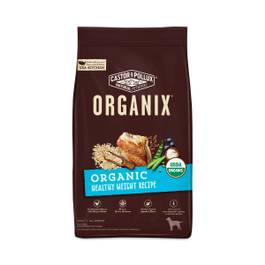 Organix Organic Healthy Weight Dog Food Recipe