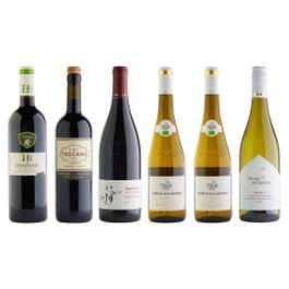 12 Curated Red & White Wines