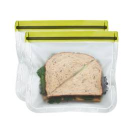 Moss Green Reusable Sandwich Bags