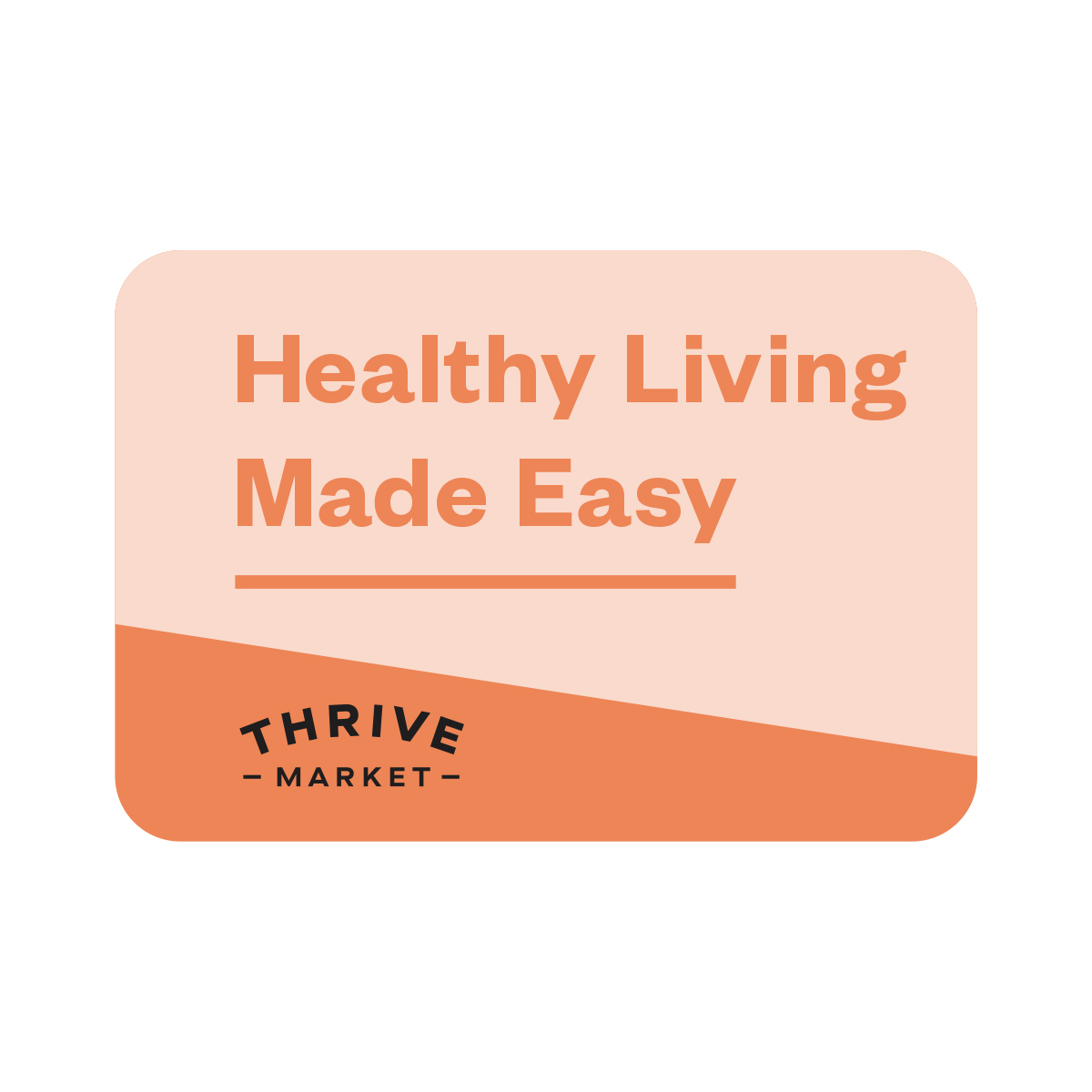 1 year Thrive Market membership