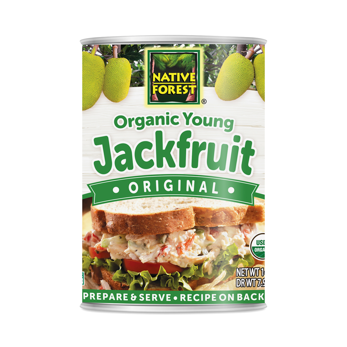 Native Forest Organic Young Jackfruit 14 oz can