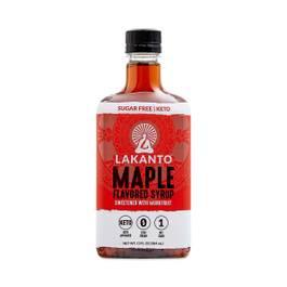 Maple Flavored Sugar-Free Monkfruit Syrup
